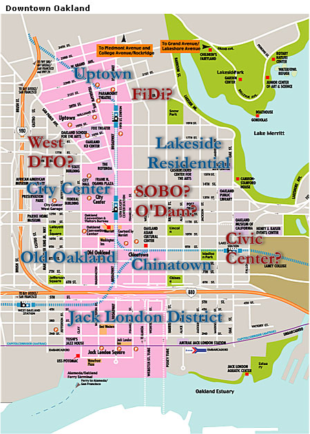 Map of the DTO